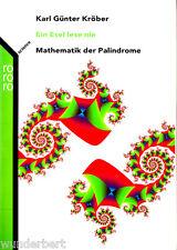 """Karl Günter Kröber - """" Ein ESEL lese nie - Mathematik der PALINDROME """" (2003) tb"""