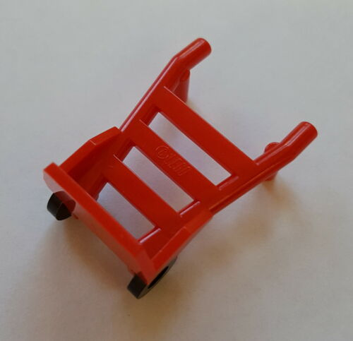 Lego 2495 Sack Truck Wheelbarrow Minifig Railway Luggage Schaffner Red 106