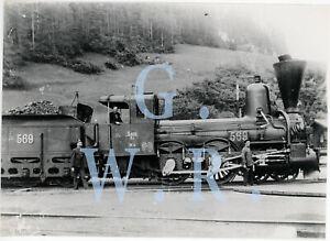 Baryt Dampflok Foto - SB Serie 19 Betr. Nr. 569
