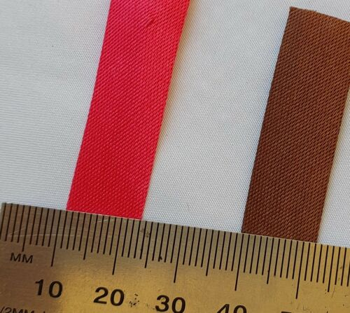 Aussie Seller! BIAS TAPE 12mm HIGH QUALITY BUY Per METRE SATIN BIAS BINDING