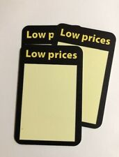 Low Prices Plastic Signs 2 Sided 5 Lot 4 X 6