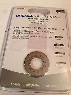 Dremel Rockwell Universal Adaptor Multi-Max OSI Oscillating Tool Bosch Fein