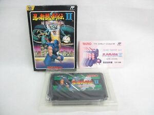 NINJA-RYUKENDEN-II-2-Free-Shipping-Famicom-Nintendo-Import-JAPAN-Game-fc