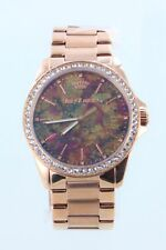 Juicy Couture 1901294 Women's Emma Multicolor Dial Rose Gold Crystal Watch