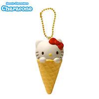 Sanrio Characone Squishy Hello Kitty Ice Cream Cone Squishy
