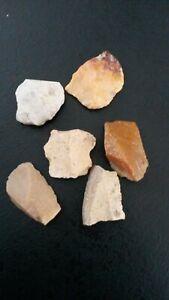 6 Flint Various Neolithic Prehistory Charente France Fg
