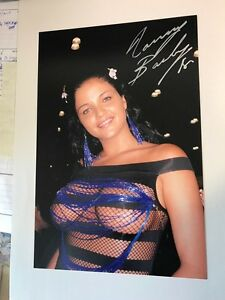 wholesale online picked up excellent quality Details about LANNY BARBIE signed 8x12