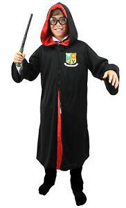 Kinder Magier Umhang Kostum Verkleidung Zylinder Fasching Zauberer