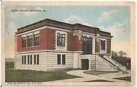 Public Library in Columbus GA Postcard