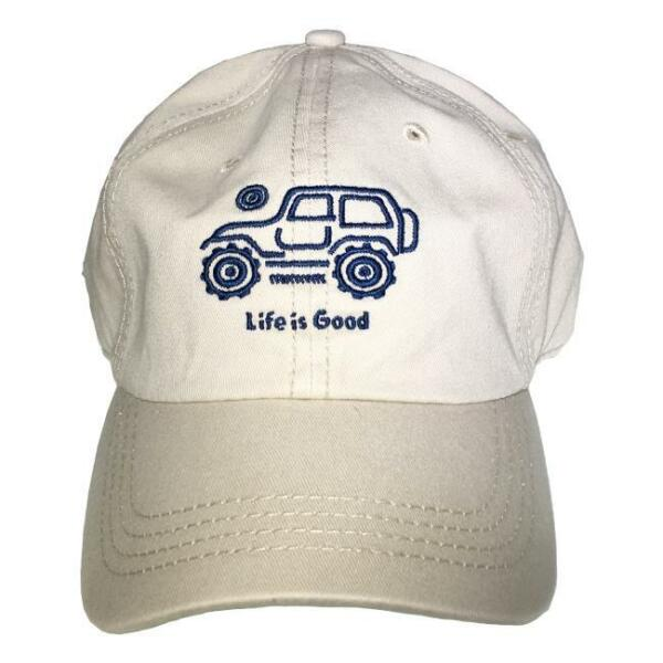 df00dadedaa Life Is Good. Chill Cap Native off Road - Bone White for sale online ...