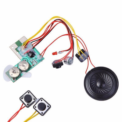 10 Sec Talking Button Sound Voice-Music Recordable Module for Greeting Card New