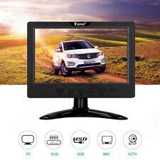 7 inch HD LED HDMI BNC VGA CCTV Color Monitor Screen for PC Surveillance G2