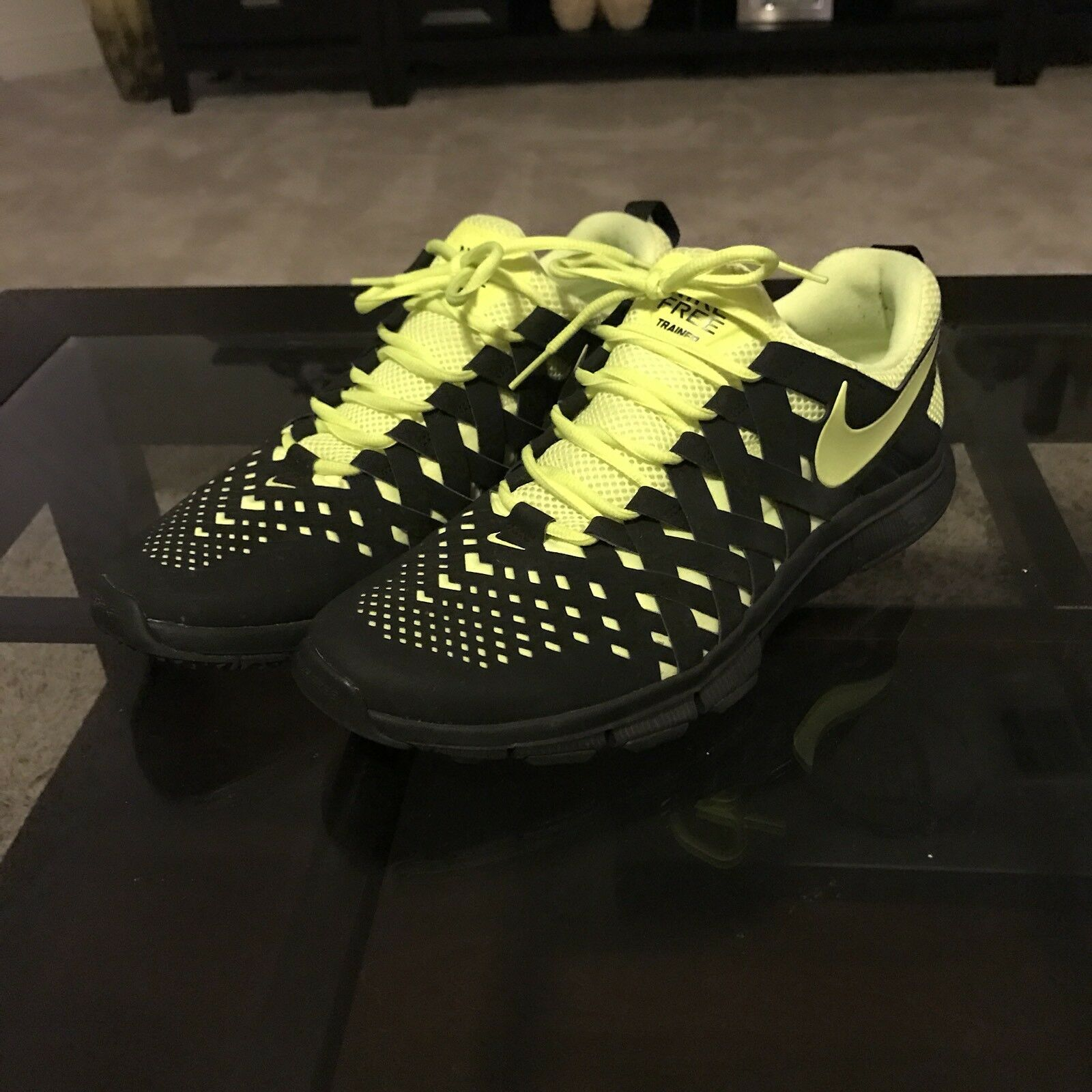 more photos 6fedf a8062 Nike Nike Nike Free Trainer verde electrico Sneakers M11 Wild Casual Shoes  b4740a