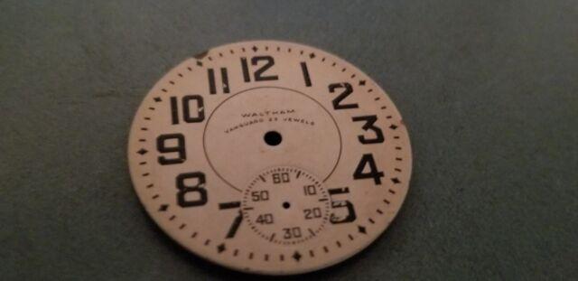 23 jewels vanguard Waltham dial 18s