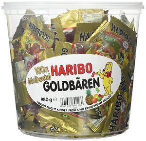 Haribo Weihnachten.Details Zu Haribo Goldbären 100 Minibeutel Ideal Als Geschenk Für Party Und Weihnachten
