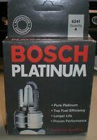 Bosch Platinum 6241 Spark Plugs - Box Of Four