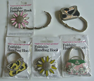 Handbag Hanger//Hook Must Have for Ladies Keep them off the floor and clean