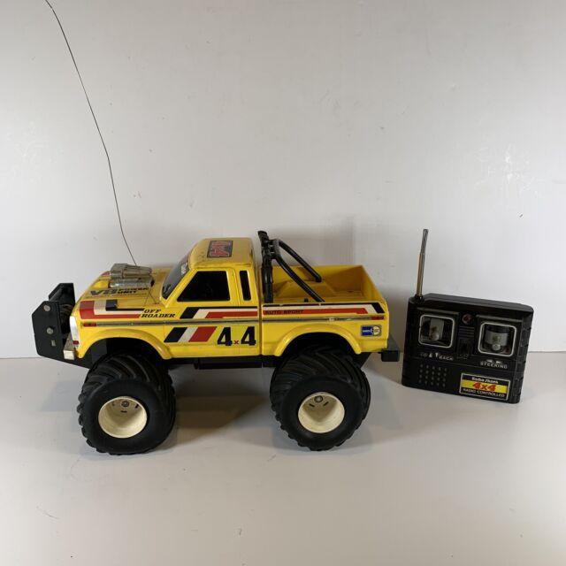 Vintage 1985 Radio Shack 4x4 Off Roader Rc Monster Truck Ford V8 Remote Control For Sale Online