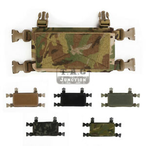 Chassis MK3 Chest Rig Quadruple Mag Pouch Tool Insert Pouch for Tactical Gaming