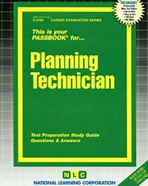 PLANNING TECHNICIAN(PASSBOOKS) (CAREER EXAM. SER. C-3185) By Jack Rudman