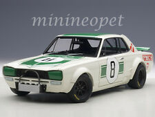 AUTOart 87177 NISSAN SKYLINE GT-R KPGC10 1971 MASAHIRO HASEMI JAPAN GP 2ND 1/18