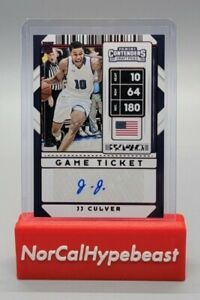 2020 Panini Contenders Draft Picks Basketball JJ Culver Red Game Ticket #114