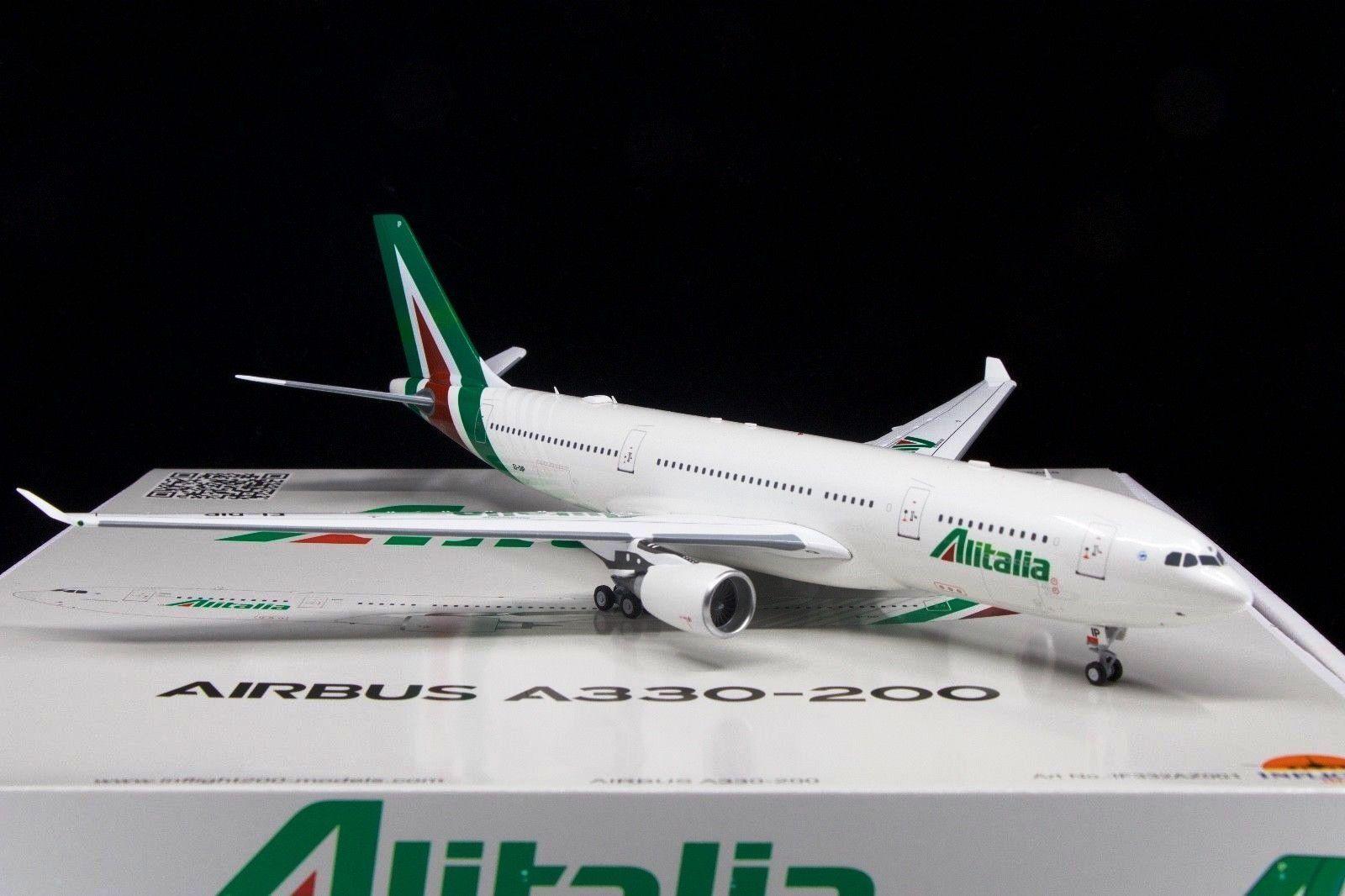 INFLIGHT 200 IF332AZ001 1 200 ALITALIA AIRBUS A330-200 EI-DIP WITH STAND