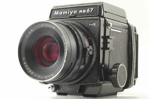 【 Exc+5 】 Mamiya RB67 PRO S & Sekor C 90mm f/3.8 Lens 120 Film Back From Japan