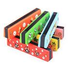 Wooden Harmonica Children Kids Musical Instrument Educational Music Toy Gift