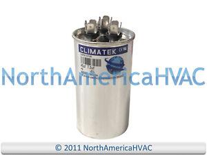 40//5 uf MFD 370//440 Volt VAC fits ICP # 1172148 ClimaTek Round Capacitor