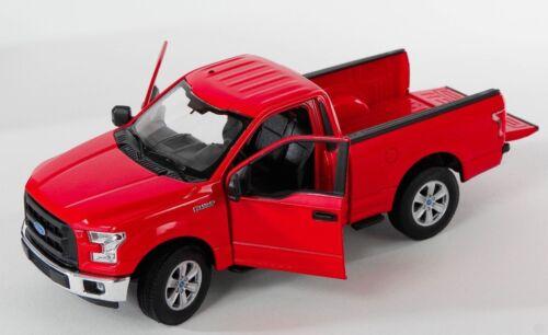 red Welly Modell Auto 1:24 NEU BLITZ VERSAND Ford F-150 Regular Cab 2015 rot