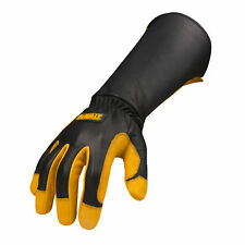Dewalt Premium Leather Welding Work Gloves Dxmf04051