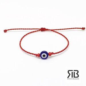 Image Is Loading Evil Eye Red Friendship Bracelet Handmade