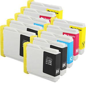 10-Pk-LC51-LC-51-Ink-for-Brother-MFC-230C-MFC-240c-MFC-885c-MFC-465cn-MFC-5860CN