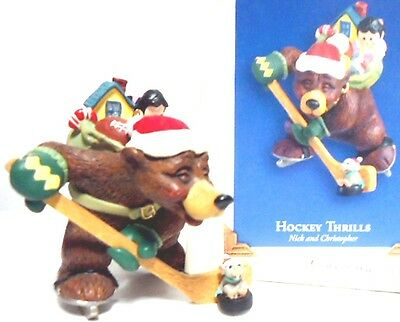 Hockey Thrills Nick and Christopher Series Hallmark 2005 2nd in the series NEW