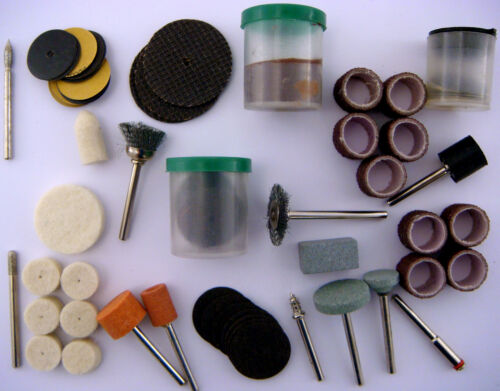 # Polier Schleifstiftset Zubehör Set Mini Bohrmaschinen Schleifer Dremel Fräser