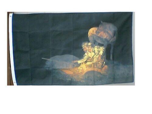 Unknown Presence 3x5 Feet Flag Unknown Presence Flag