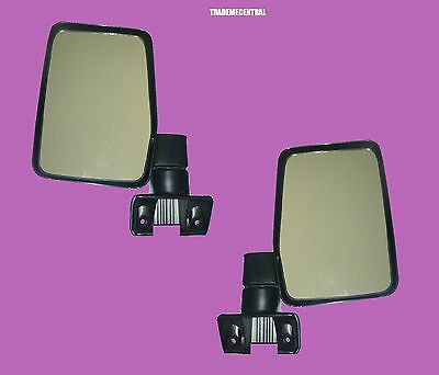 Toyota Land Cruiser 60 Series 1980-1987 Door Mirror Chrome-RIGHT
