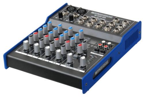 B-WARE 6-KANAL USB STUDIO MISCHPULT PA MIXER DIGITAL EFFEKT GERÄT OPTICAL IN//OUT