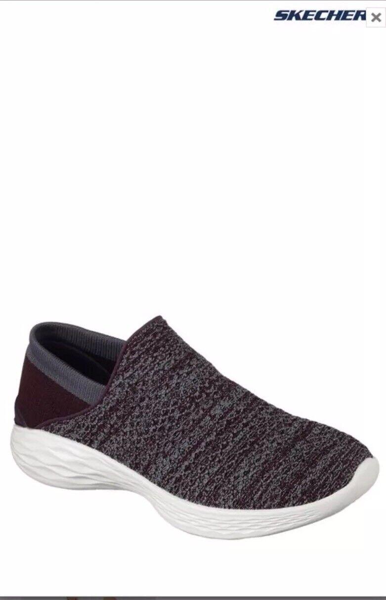 BNWT SKECHERS Burgundy You Walk GOGA MAX MAX MAX Slip On shoes Trainers UK 6 a41f50
