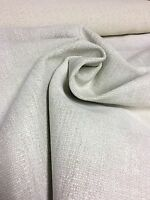 SUPER LUXURIOUS CREAM CHENILLE UPHOLSTERY FABRIC 1 METRES