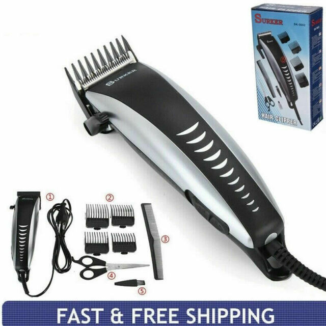 Professional Hair Clippers Men's Basic Barber Set Mains Trimmer Shaver Cutter