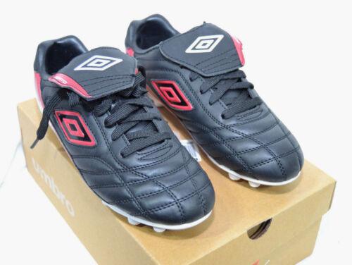 Jeunesse garçon UMBRO Porto MSR Soccer Crampons Chaussures Noir /& Rouge-Taille 1 4 ou 5 NEUF