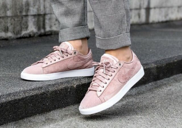 size 40 ee14a cd048 Nike Blazer Low LX Particle Pink Silt Red Aa2017 604 Women 10