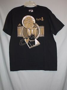 new style b85c1 aa220 Image is loading NWOT-Adidas-Cleveland-Cavaliers-NBA-Finals-Champions-2016-