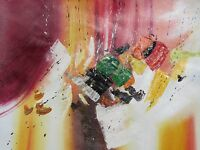 colorful abstract large oil painting canvas modern original contemporary art