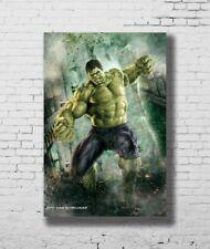 "Hot Movie 14/""x20/"" Poster 020 Marvel 10 Year Anniversary Superheroes"
