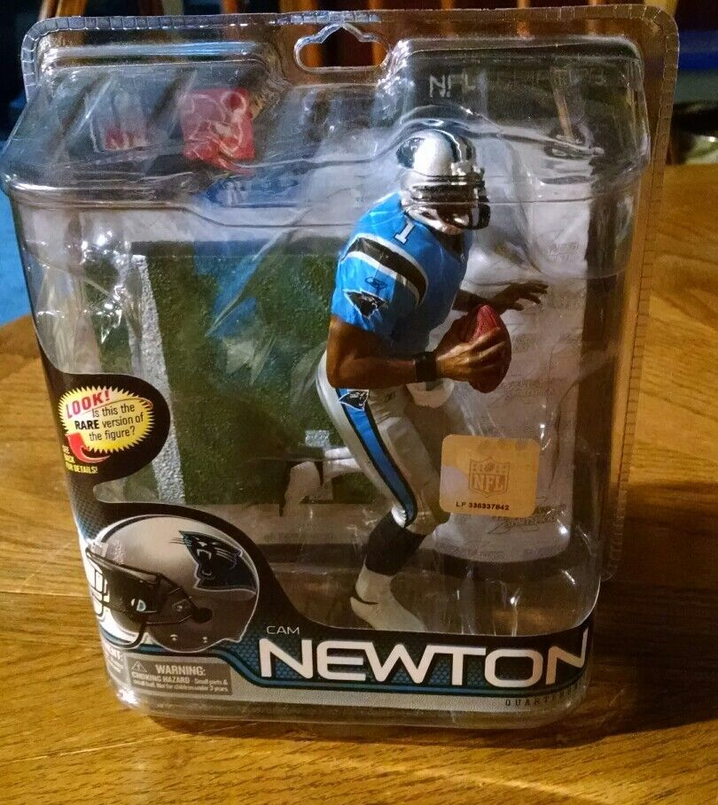 2011 MCFARLANE FOOTBALL SERIES 28  60 CAM NEWTON /3000 FIRST PIECE