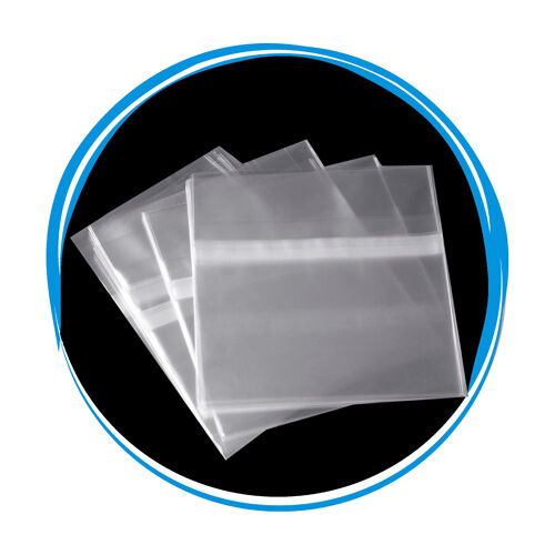 5000 OPP Resealable Plastic Wrap Bags for Standard 10.4mm CD Case Peal & Seal