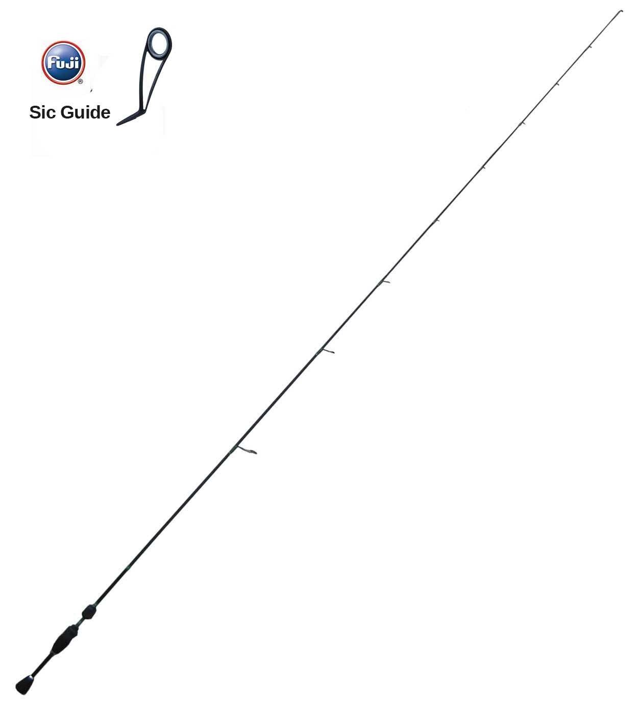 JP-1-66UL de Rod de la trucha de la zona Pesca Top Edad Clase 66 UL Japn Fuji G